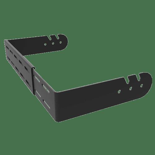 60lb to 85lb Adjustable Width Wall & Ceiling U-Bracket Speaker Mounts