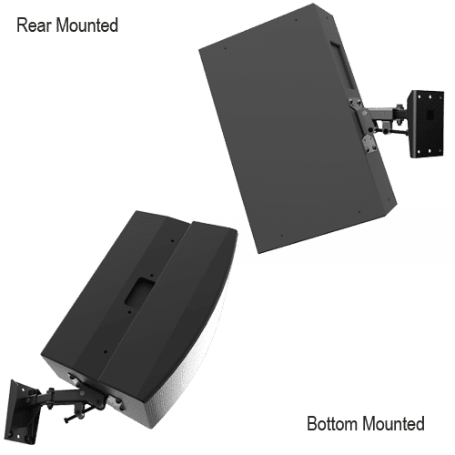 Multimount Mm 120 120lb Indoor Speaker Wall Mount Adaptive Technologies Group