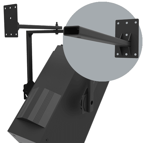 SAS-100-20 | 100lb Indoor Wall Arm Mount