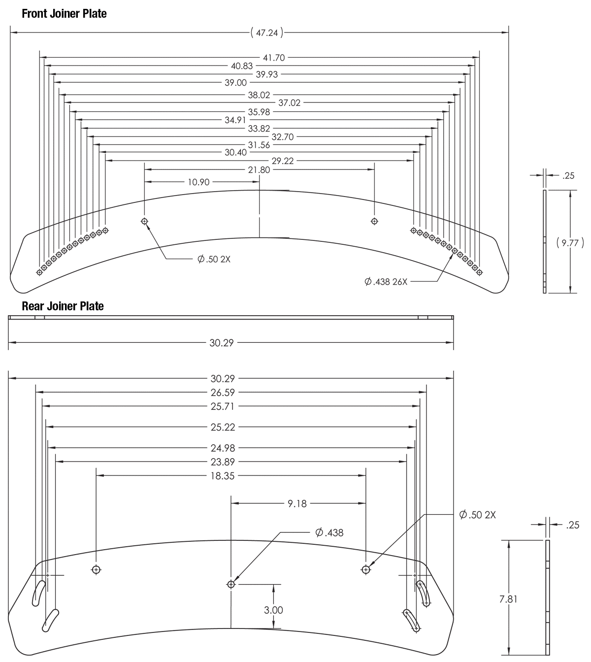 FP-EVFS2-3X1-Drawings