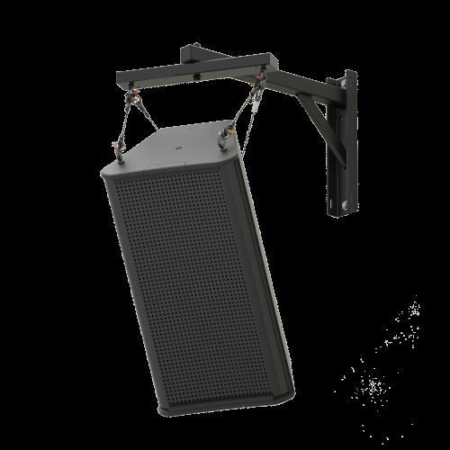 SAS-200-24 | 200lb Indoor Steerable Audio Wall Mount