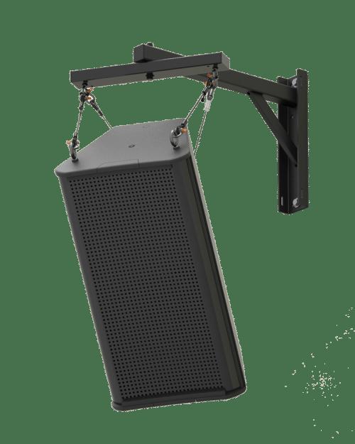 SAS-200-24   200lb Indoor Steerable Audio Wall Mount