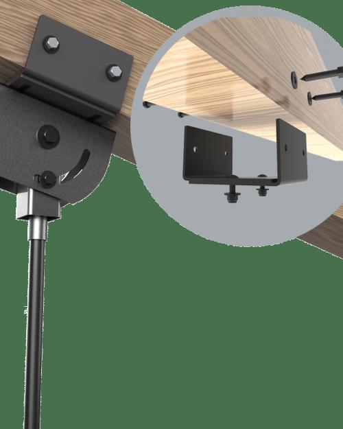 6-10 inch wood beam clamp