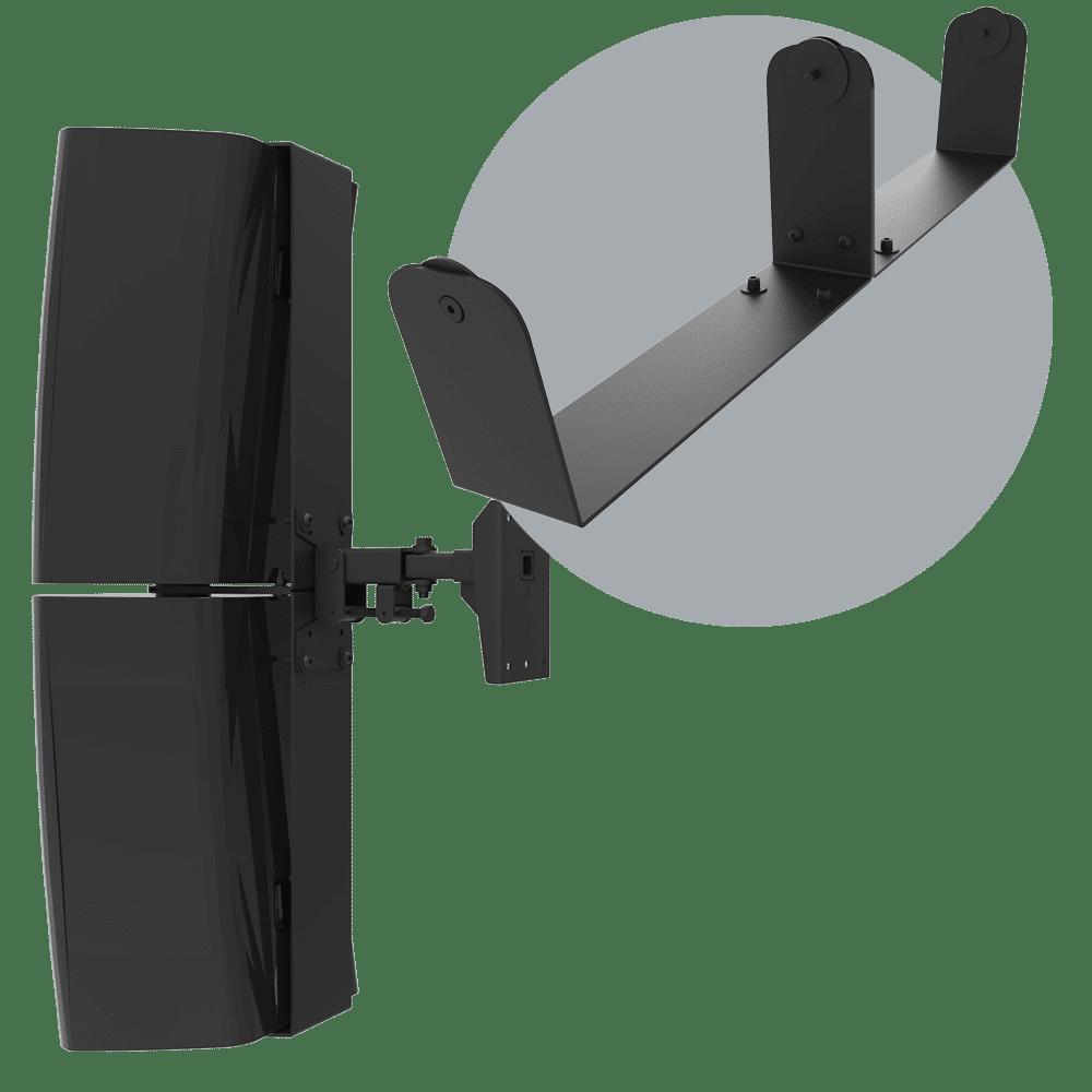 QSC S12 & S112 Dual U-Bracket Mount