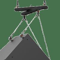 20 inch One Way Array Single Speaker Rigging