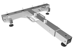 LED Ground Support T-Base Silver