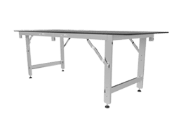 LED Ground Support Work Bench Silver